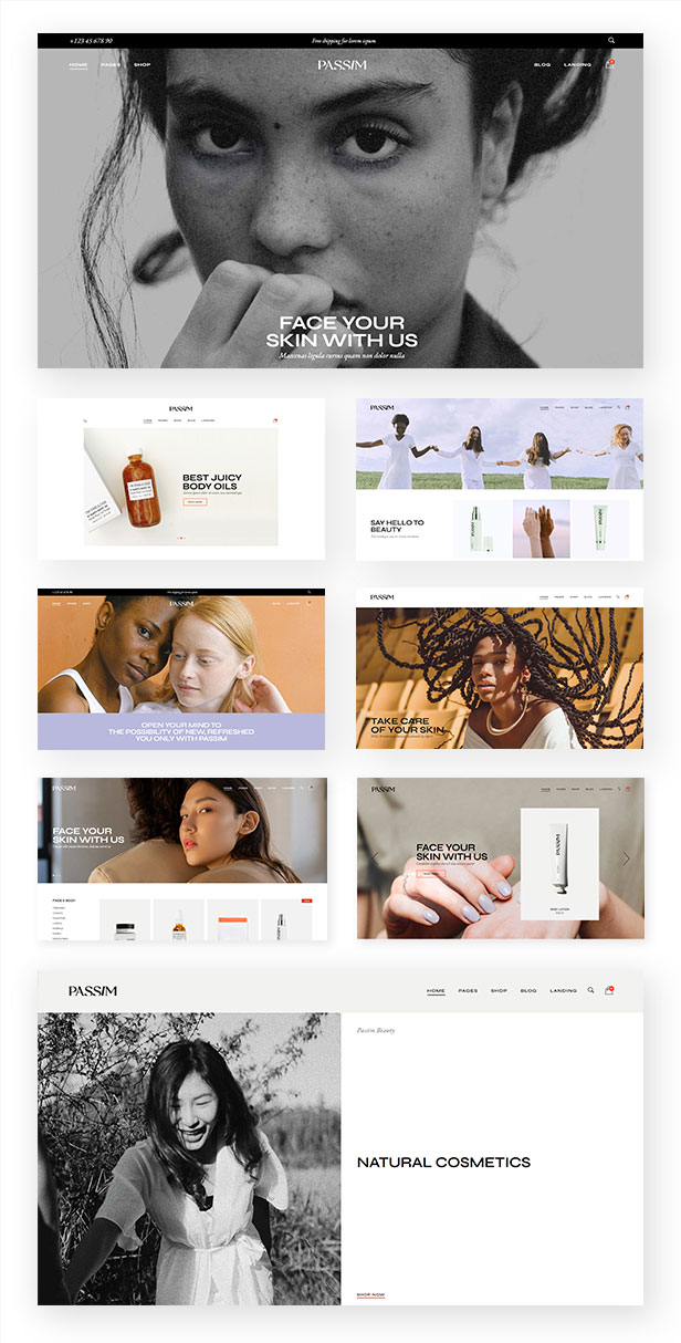 Passim - Beauty and Cosmetics Theme - 1